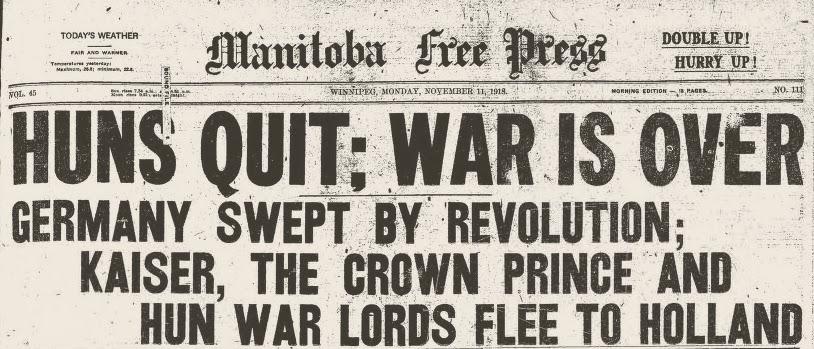 11 November 1918