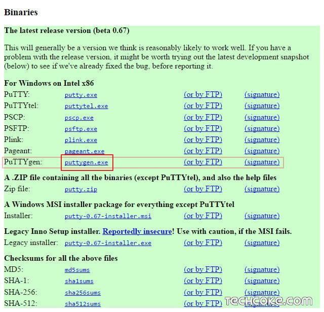 [教學] 使用 PuTTYgen 產生 SSH 連線 RSA、DSA 公鑰與私鑰_101