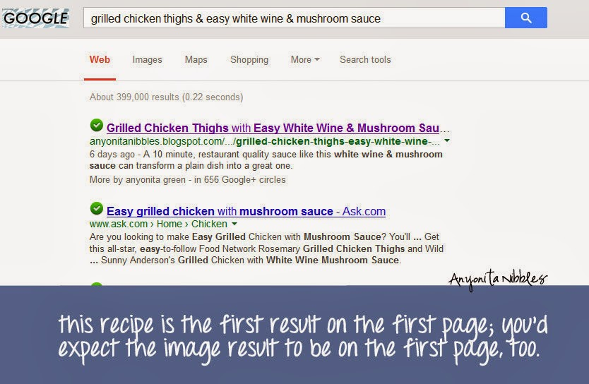 How to get your blog posts on the first space on Google from www.anyonita-nibbles.com