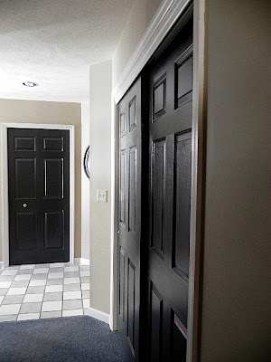 My five men black interior doors - Sophisticated black interior doors ...