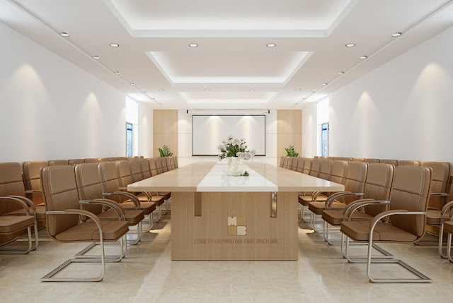 Nâng cao đẳng cấp doanh nghiệp với các mẫu bàn veneer phòng họp - H2