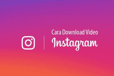 cara menyimpan foto dan video dari instagram ke galeri tanpa screenshot