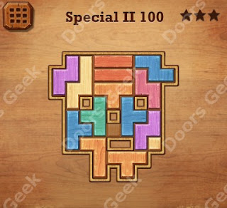 Cheats, Solutions, Walkthrough for Wood Block Puzzle Special II Level 100