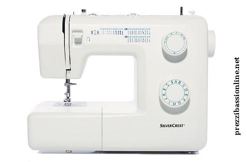 Prezzi bassi online macchina da cucire silvercrest da for Lidl offerte della settimana macchina da cucire