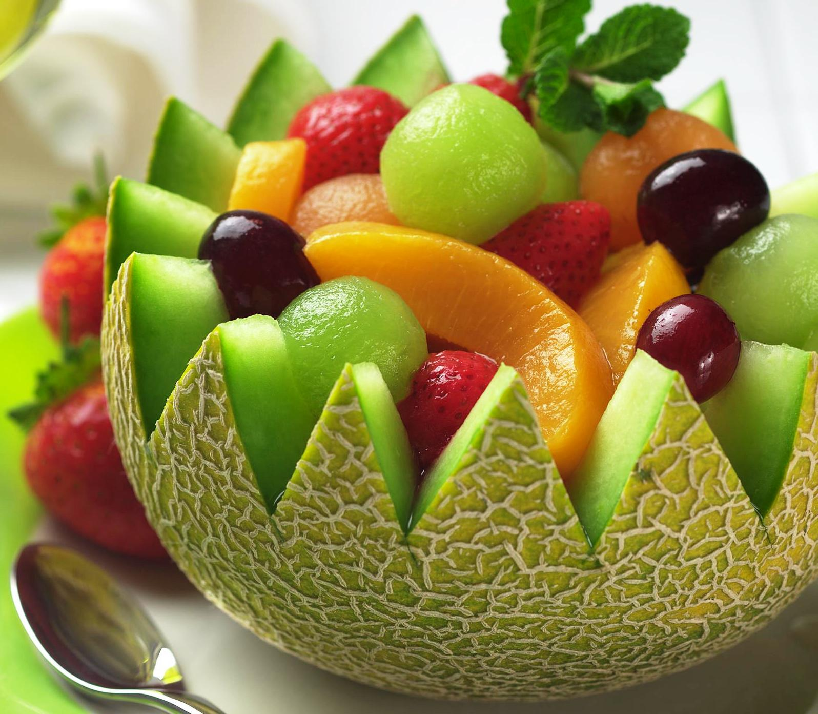 A Tropical Fruit Salad Is Always Popular