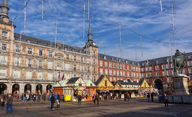 Mercado Plaza Mayor Madrid