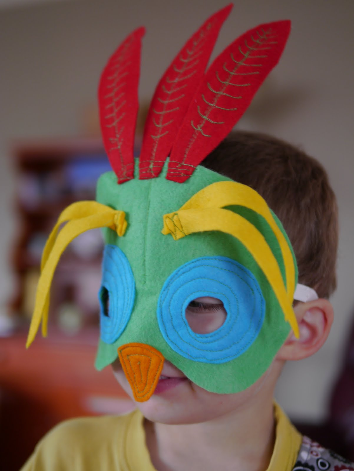 Mardi Gras Masks for Children - Backwoods Mama
