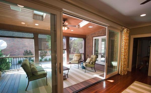 11 model Desain Pintu Kaca Geser Rumah Modern