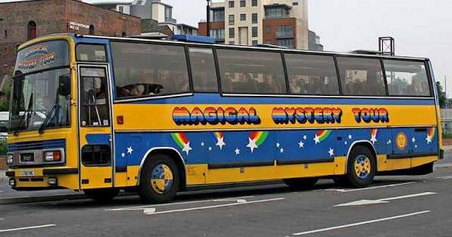 Magical Mistery Tour em Londres
