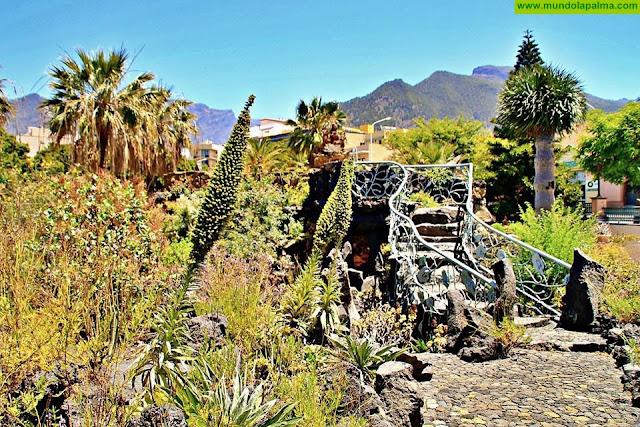 Parque Antonio Gómez Felipe un remanso de paz en Los Llanos de Aridane
