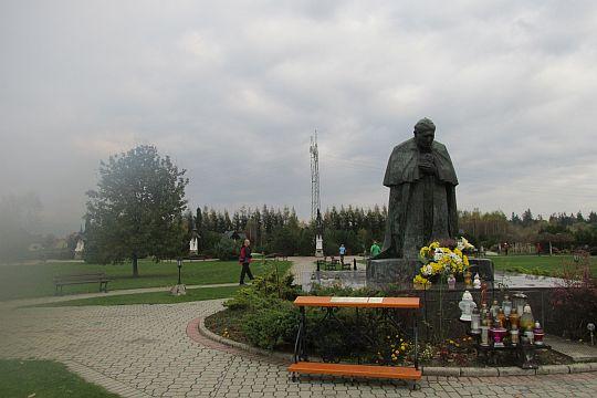Pomnik Ojca Świętego Jana Pawła II.