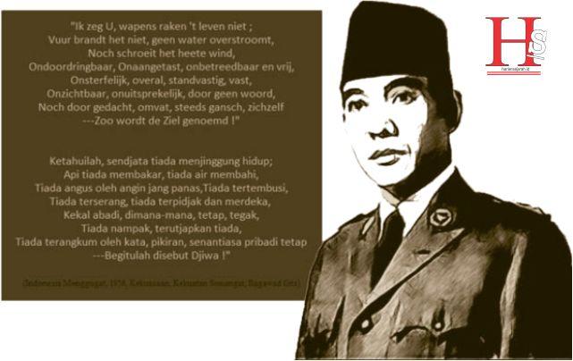 Pidato Yang Dibacakan Oleh Soekarno Tersebut Berjudul ...