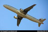 Airbus A321 EC-ILO