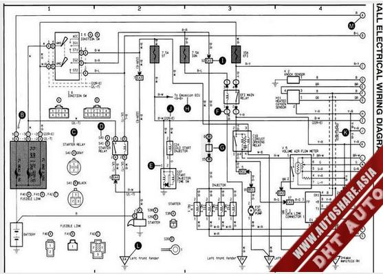 LEXUS SC400 1996 WIRING DIAGRAM | Toyota Workshop Manual