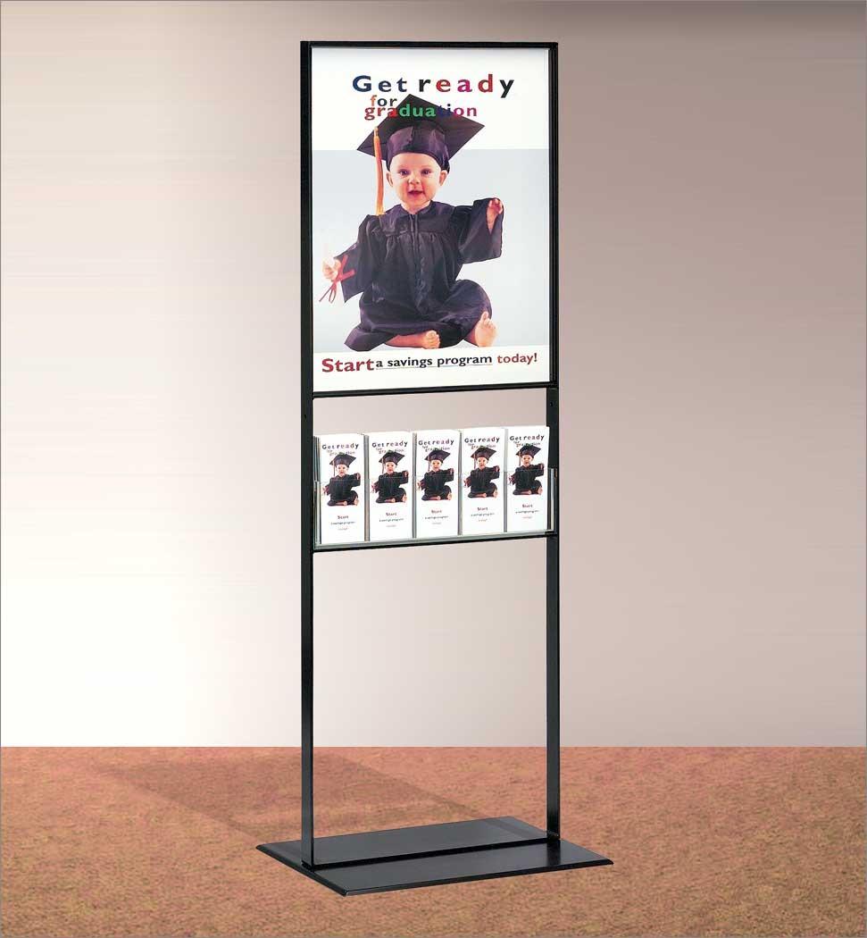 Brochure Zafira Pics: Free Standing Brochure Display