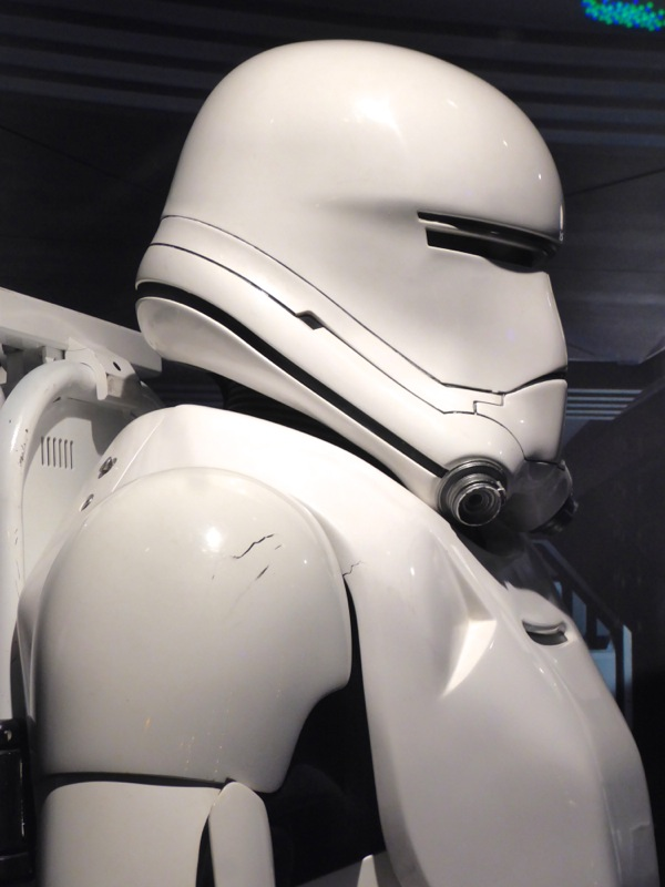 First Order Flamethrower Stormtrooper costume detail