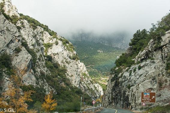 Desfiladero de la Hermida. Cantabria