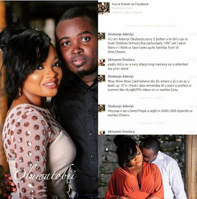 Amazing! This Couple Attended Same Primary School, Now Getting Married