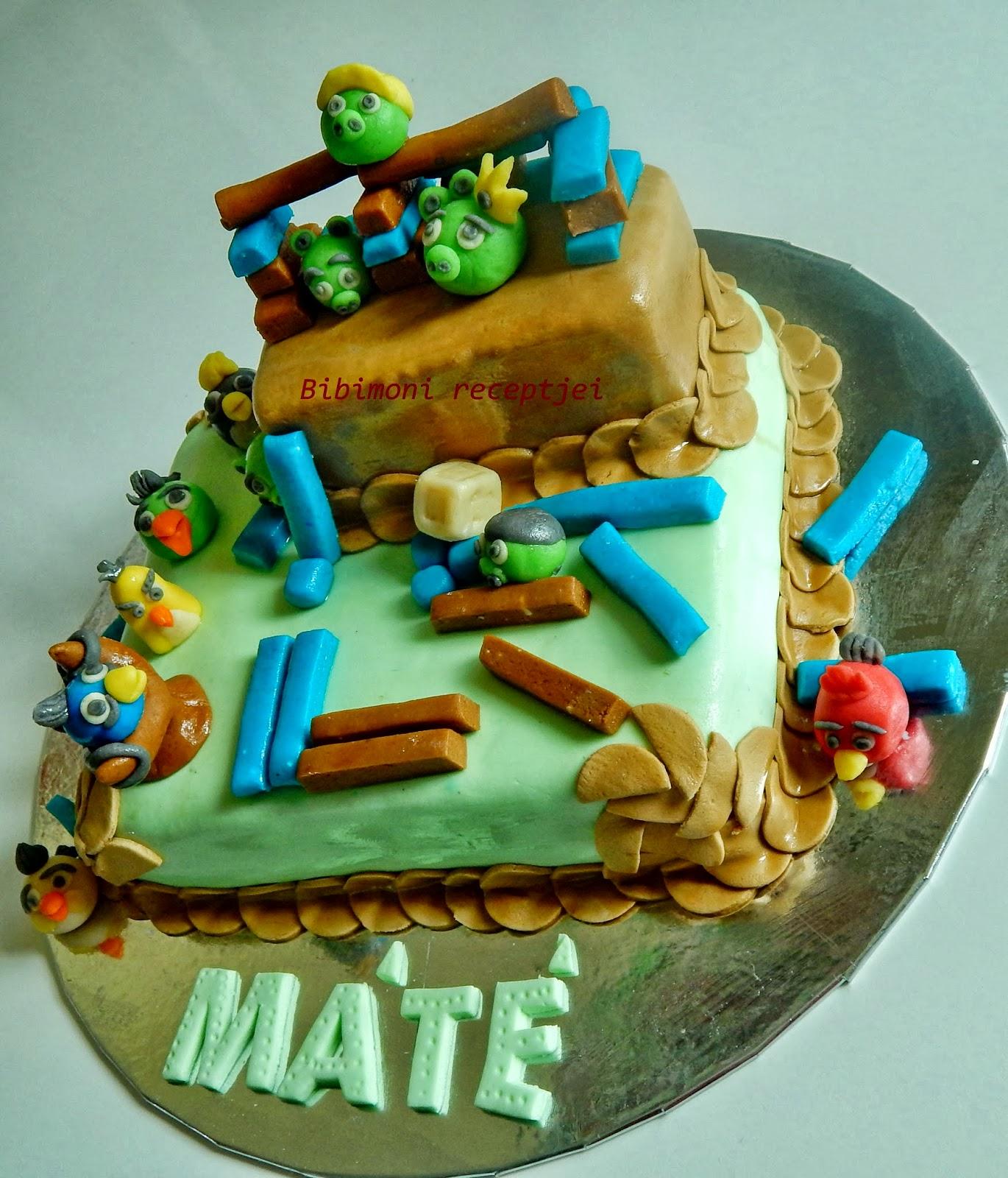 boldog névnapot máté Angry Birds Torta 2.   GasztroBlogok.hu boldog névnapot máté