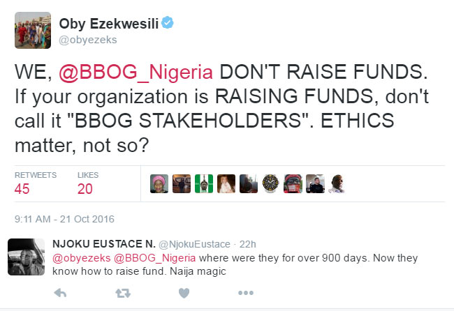 Don't use BBOG to collect money - Oby Ezekwesili blasts Buhari again