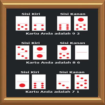 Image result for Cara Menghitung Kartu Domino 99 :