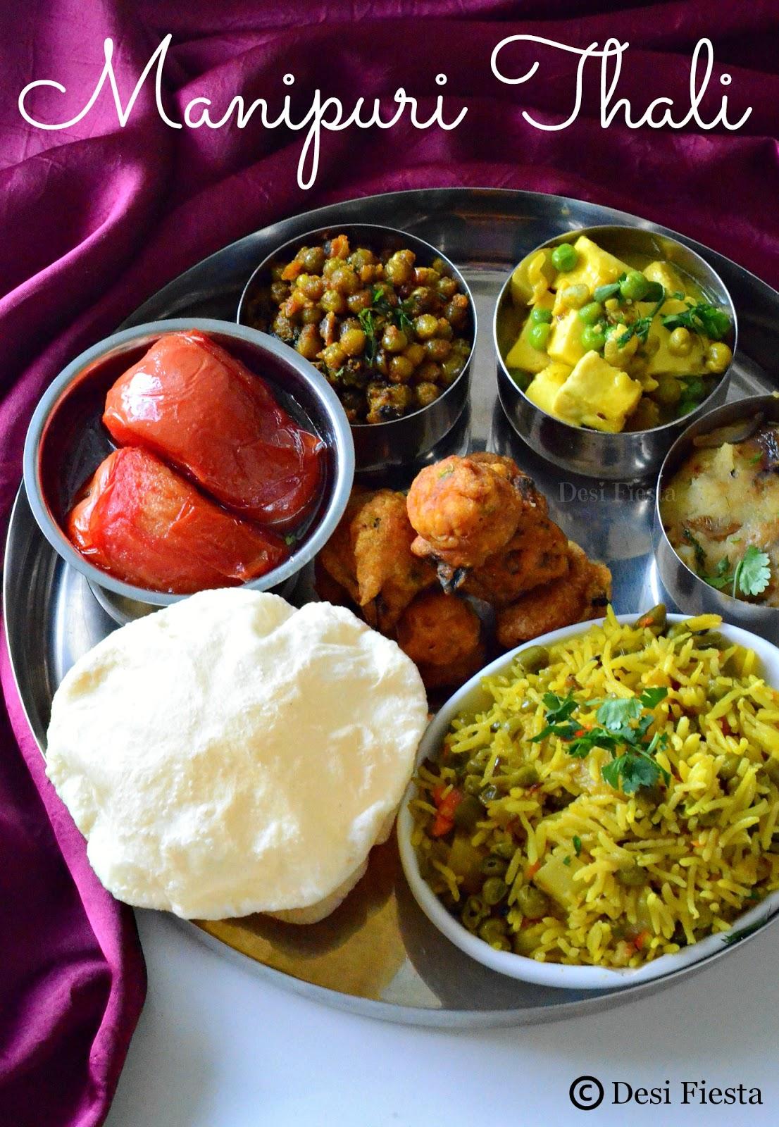 Manipuri thali manipur cuisine desi fiesta forumfinder Image collections