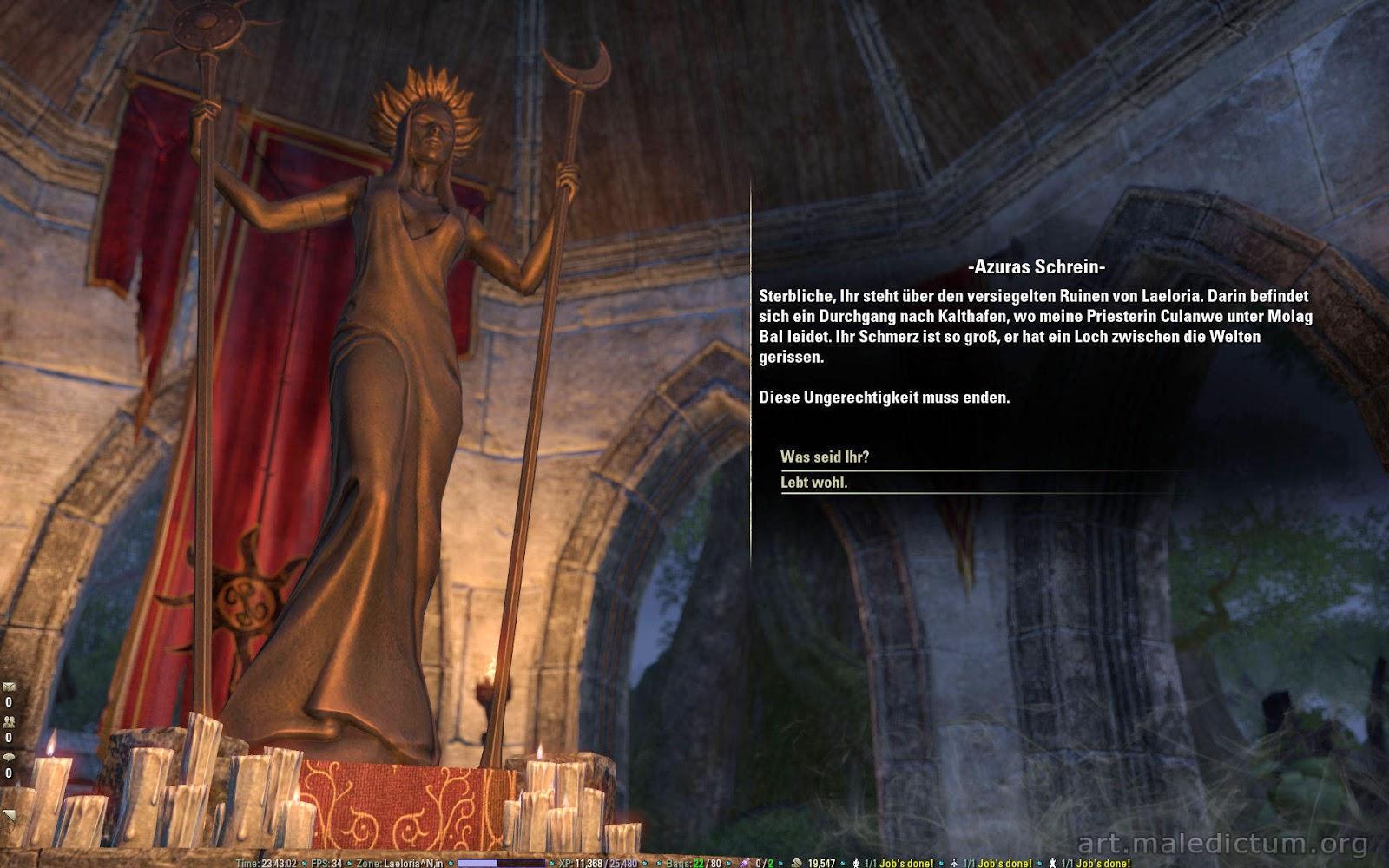 TES Online: Святилище Азуры