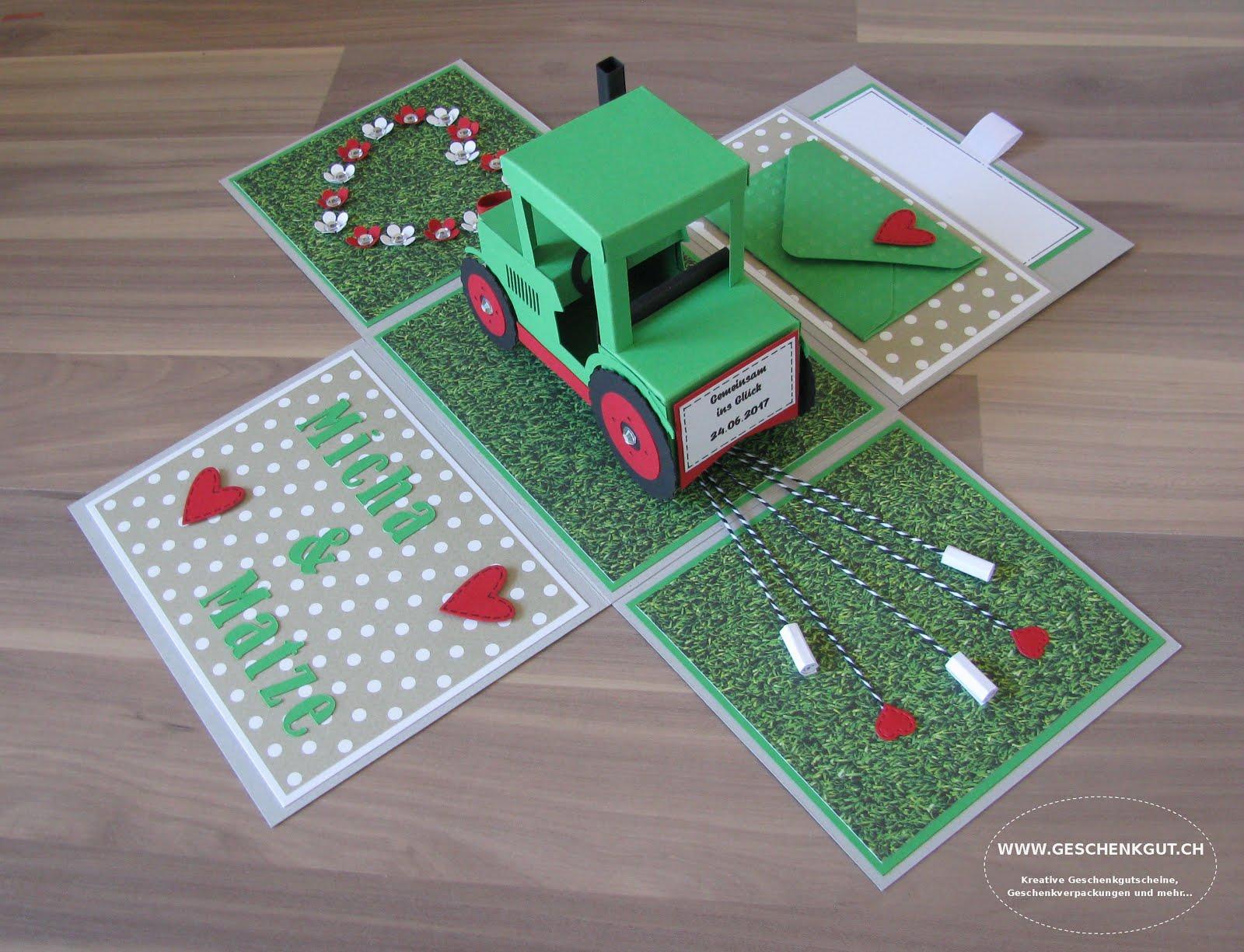 Hochzeit Mit Traktor Einladungskarten Traktor Kindergeburtstag