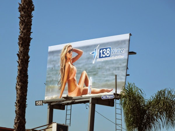 138 Water Lexie Marlow billboard Sunset Strip