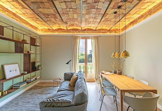 «Лес», наполняющий квартиру в Барселоне