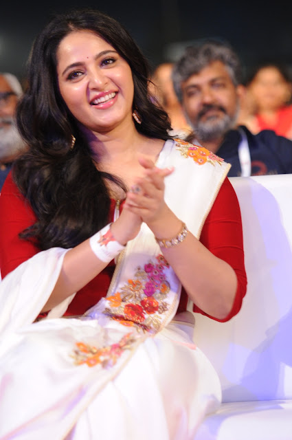 Anushka Shetty at Baahubali 2 Pre Release Event Photos