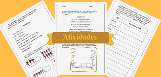 Seguem algumas atividades de matemática 1° ano, do  Ensino fundamental 1 prontas para imprimir