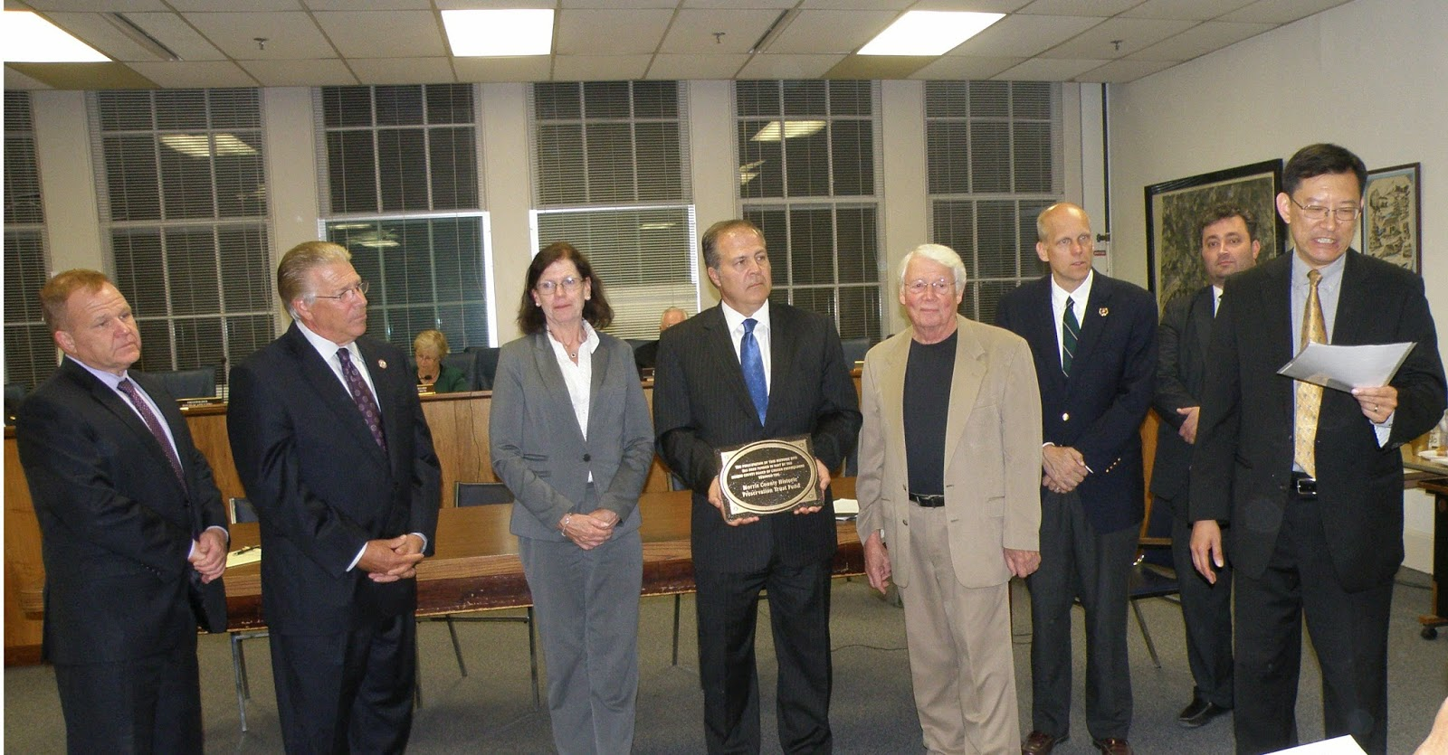 Freeholders Recognize Ralston Cider Mill Preservation Efforts