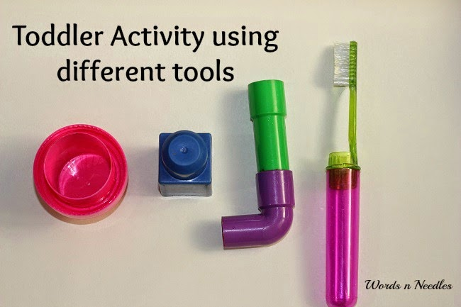 toddler painting tools
