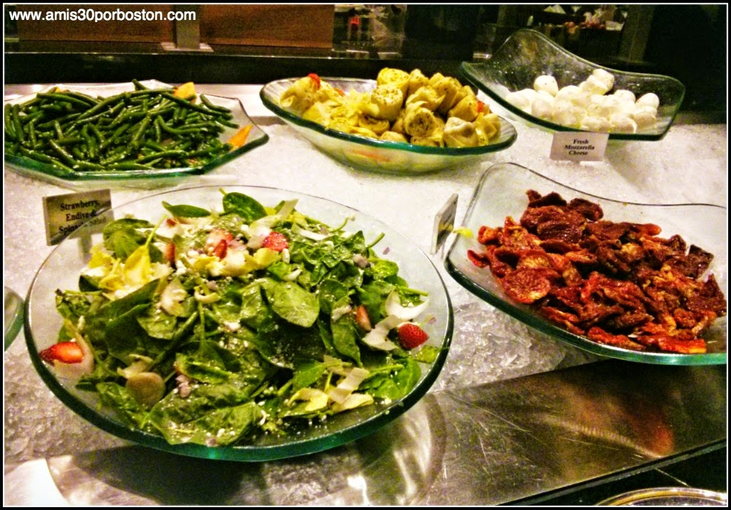 Fogo De Chão: Salad and Sides Bar