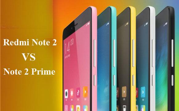 Perbedaan Xiaomi Redmi Note 2 VS Redmi Note 2 Prime