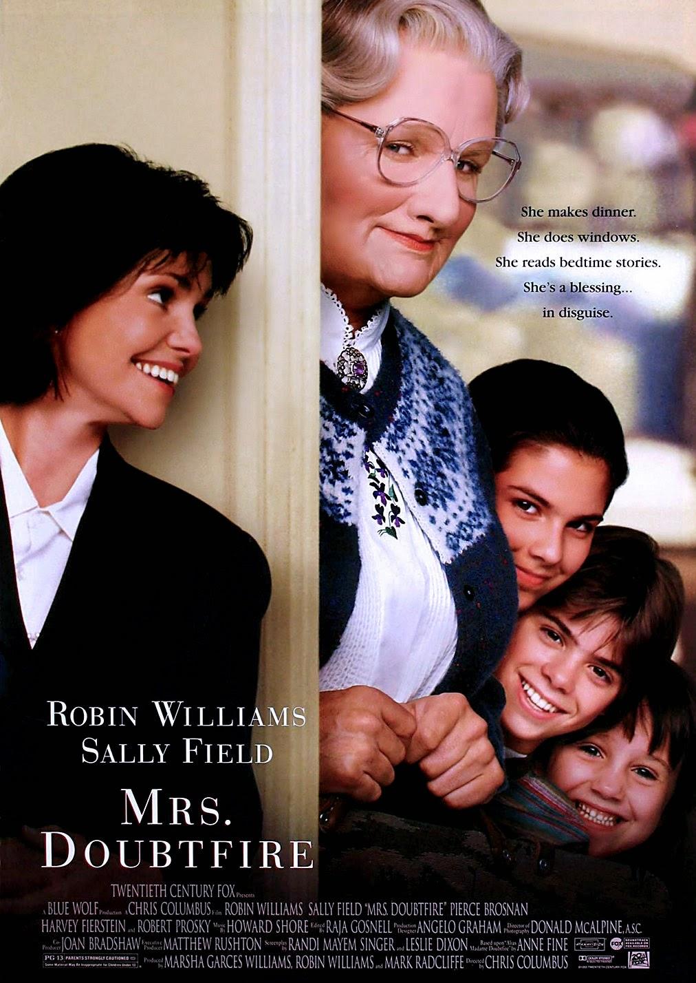 Poster original Mrs.Doubtfire (1993)