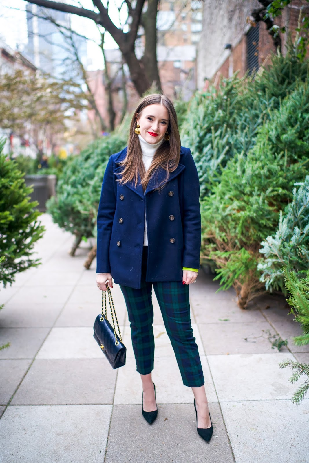 A Festive Holiday Office Look New York City Fashion And Lifestyle
