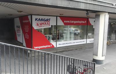 Kangaskapina Helsinki osote Kampinkuja 2