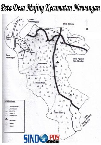 Profil Desa & Kelurahan, Desa Mujing Kecamatan Nawangan Kabupaten Pacitan