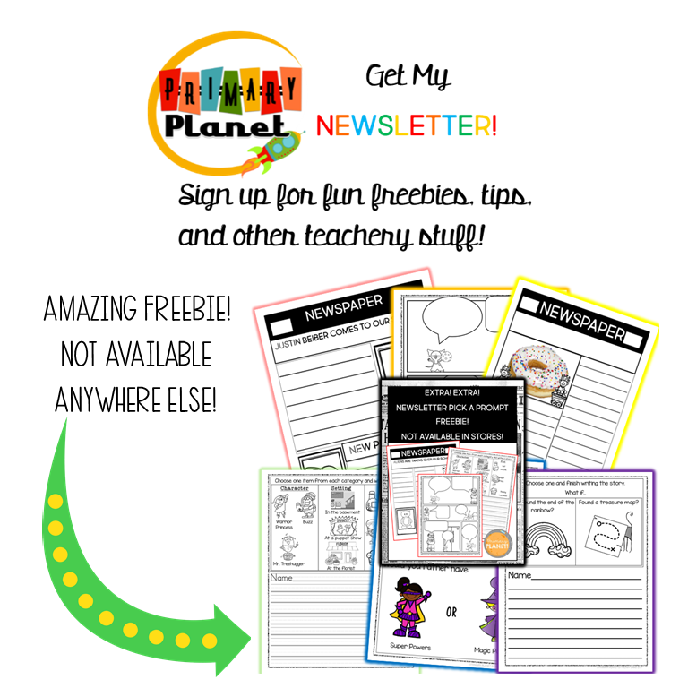Get my newsletter for all kinds of great teacher stuff!