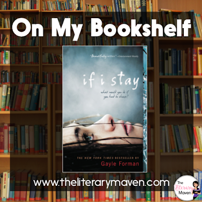 In If I Stay by Gayle Forman, Mia has the perfect life. She is a talented cello player headed to Julliard with a loving family and an awesome boy friend and best friend. Then a tragic car accident changes everything and Mia must decide if life is still worth living. Read on for more of my review and ideas for classroom application.