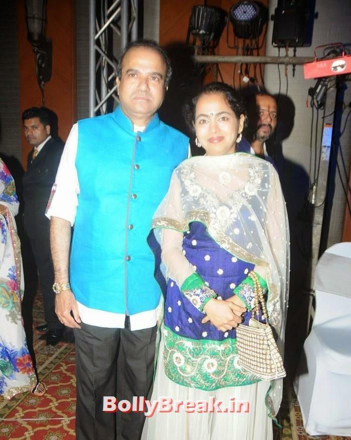Suresh Wadkar, Manali Jagtap, Vicky Soor Engagement Ceremony Pics