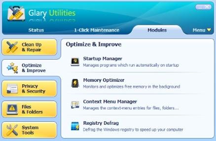 تحميل برنامج تنظيف وتسريع الويندوز Glary Utilities اخر اصدار