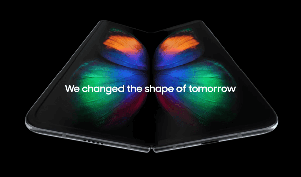Samsung Unveiled Foldable Galaxy Smartphone
