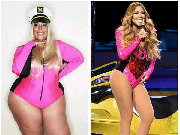 Halloween 2017: Fat Mariah