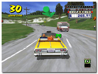 Crazy Taxi screenshot 3
