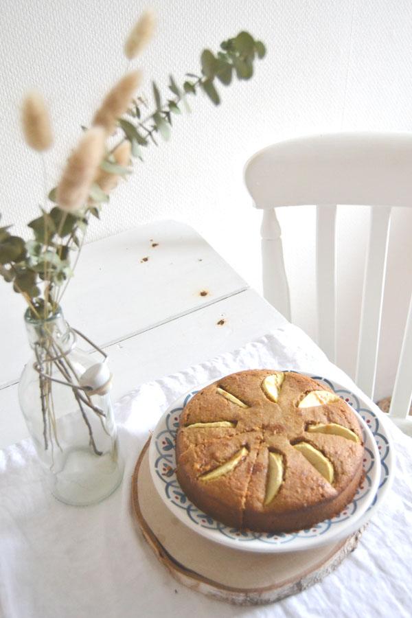 recette gateau aux pommes indice glycemique bas sans gluten