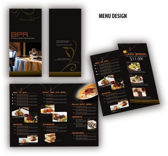 a superb collection of restaurant brochures design dazzling