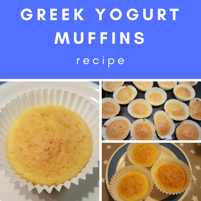 Greek Yogurt Muffins recipe